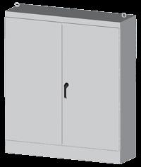 2 door battery cabinet
