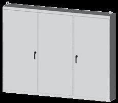 3 door battery cabinet