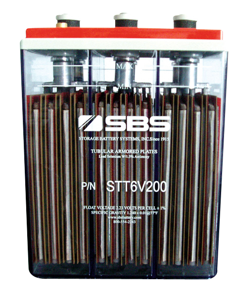STT Series SBS flooded 12v/6v lead acid battery monoblock