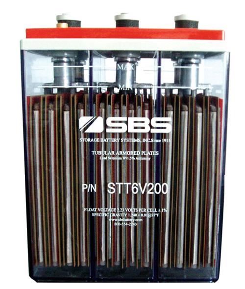 STT Serie SBS inundada 12v/6v bateria plomo-acido