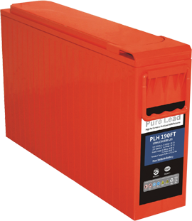PLH Series VRLA batteries 12V front access AGM