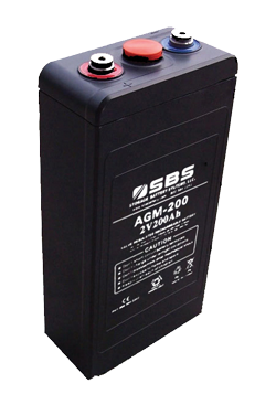AGM battery for modular battery systems