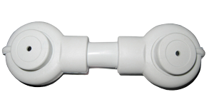 white insulated intercell cable for AGM racks