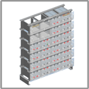 AGM series battery for industrial power applications