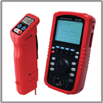 Battery testers for industrial power applications