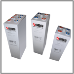 OPzV series batteries for railway applications