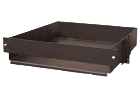 battery relay rack heavy duty tray