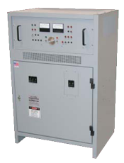 SCR/SCRF battery charger for stationary battery systems