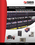 stationary battery catalog cover