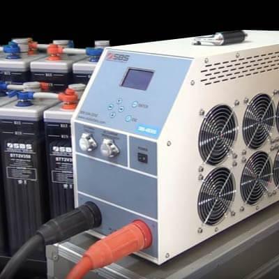 Load banks battery capacity testing