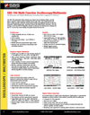 data sheet for Storage Battery Systems' SBS-700 multi-function oscilloscope multimeter