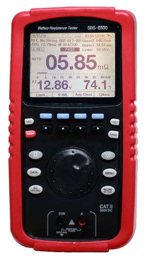 battery impedance tester and analzyer sbs-6500