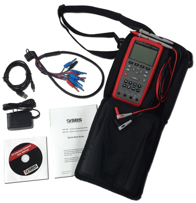 Oscilloscope / multimeter / data logger with USB PC software
