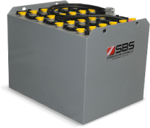 SBS Forklift EURO Motive Power Bolt-on DIN Cell Batteries