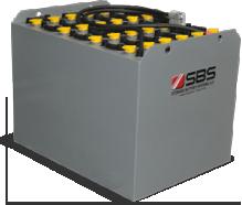 DIN Tubular Forklift Batteries