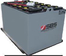 Flat Plate Forklift Batteries